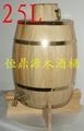 Decorative wooden barrelscan be customized 2