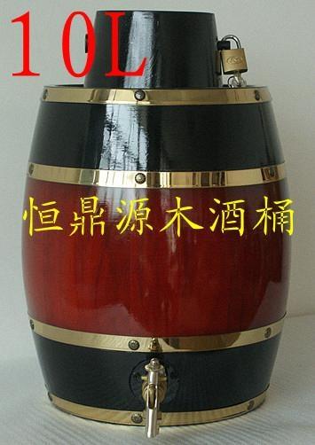 裝飾木酒桶3L 3