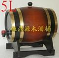 最佳禮品木酒桶5L 4