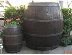 木酒桶花盆150L