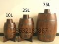 Decorative wooden cask of pine casks 3