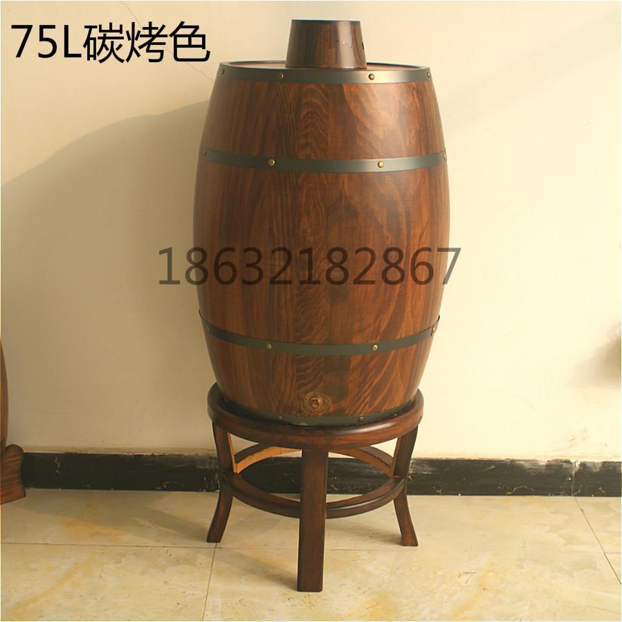75L木質啤酒桶 3