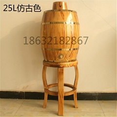 25wood barrel