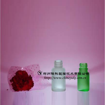 优质化妆品包装瓶类玻璃蒙砂粉 1