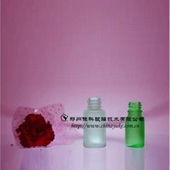 优质化妆品包装瓶类玻璃蒙砂粉