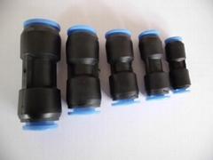 12mm氣動氣管風管直通快插快速接頭