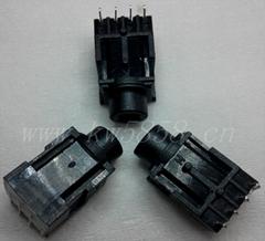 3.5防水耳机插座PJ-361