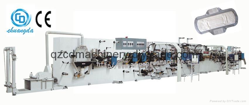 Sanitary Napkin Machine Full Automatic Machine 1