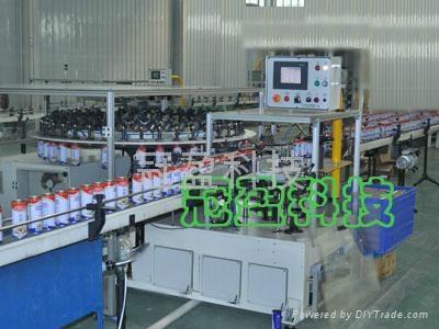 转盘式饮料铁罐容器测漏机  1