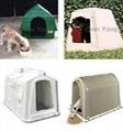 Rotomolding plastic pet house 2