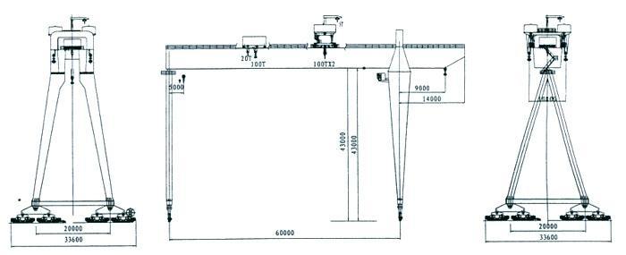 造船龙门起重机 2