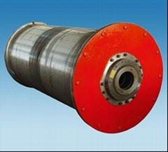 power cable crane drum