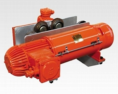 Explosion Proof Type Hoist With Dust -Resistant Feature