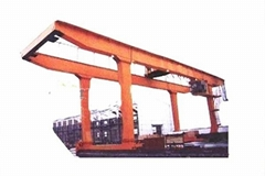 U Type Double Beam Hook Gantry Crane