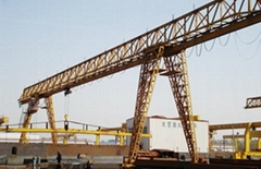 MH model electric hoist( trussed type)gantry crane