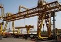 A-leg double girder gantry crane with