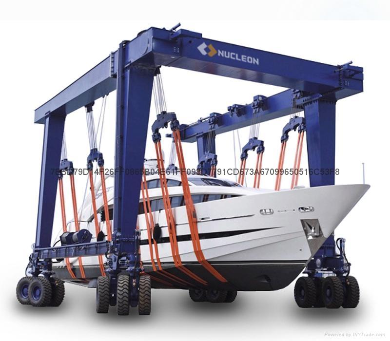 游艇搬运起重机 10T-800T 2