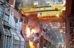 Double Beam Foundry Crane For Steel Factory