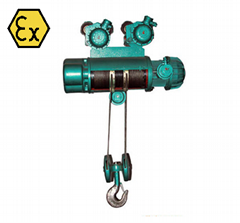 礦用防爆電動葫蘆煤安証