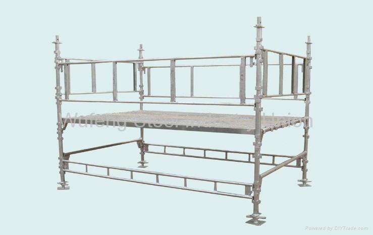 Galvanized Ring Lock Scaffold / Ringlock Standard, Ledger, Rosette for building 1