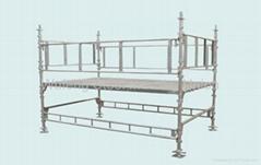 Galvanized Ring Lock Scaffold / Ringlock Standard, Ledger, Rosette for building