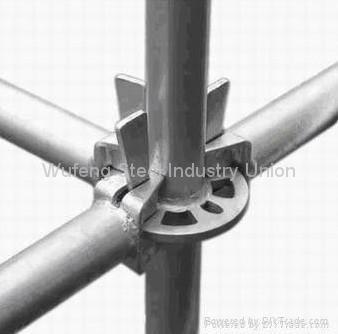 Galvanized Ring Lock Scaffold / Ringlock Standard, Ledger, Rosette for building 2