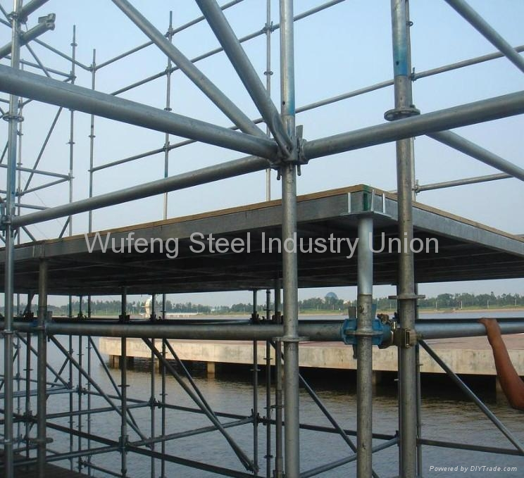 Shoring Scaffolding / Shoring Frame System For Building 2
