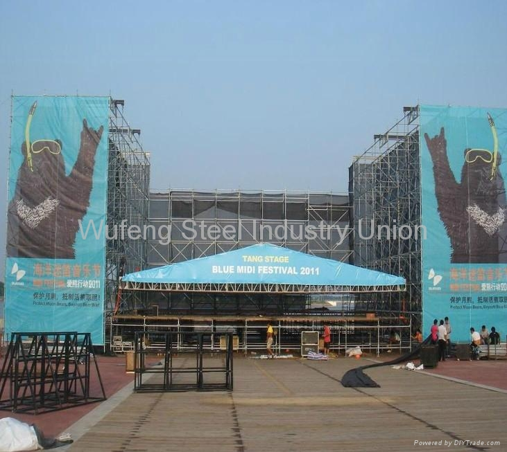 Shoring Scaffolding / Shoring Frame System For Building 3