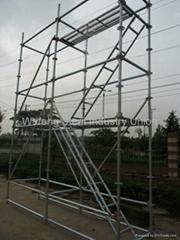 Heavy Duty Construction Ringlock Ring Lock Scaffolding / Scaffolding System