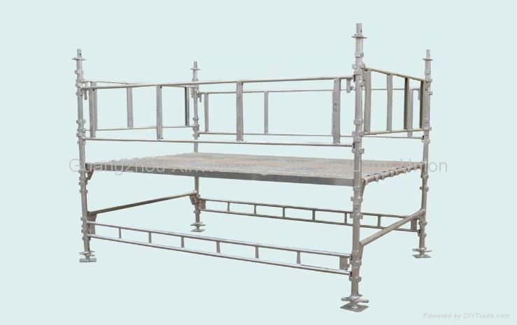 Hot Dip Ga  anized Mutifuction Construction Ring Lock Scaffolding System 2