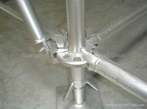 Hot Dip Ga  anized Mutifuction Construction Ring Lock Scaffolding System 4