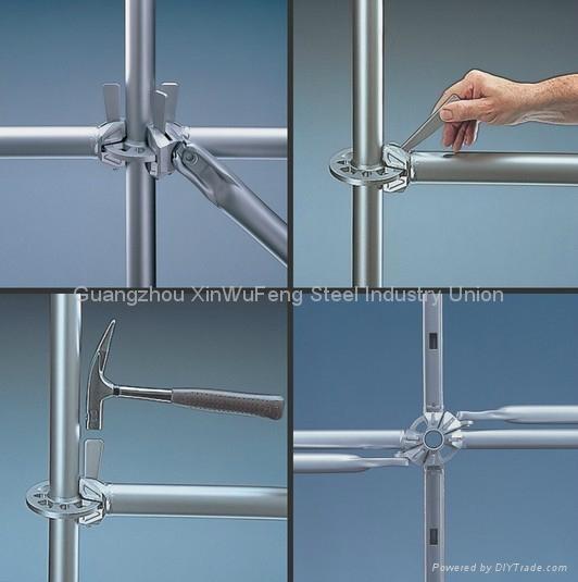 Hot Dip Ga  anized Mutifuction Construction Ring Lock Scaffolding System 5