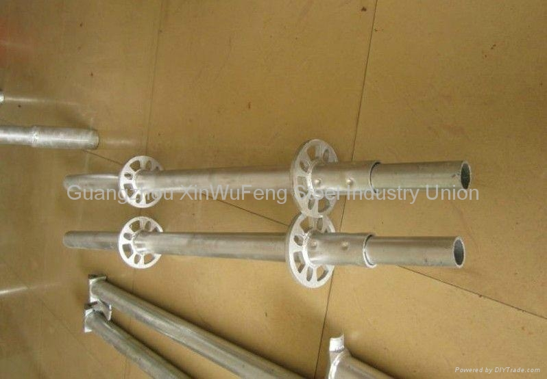 Safety Durable Oil Painting Construction Professional Ring Lock Scaffold Tube 1