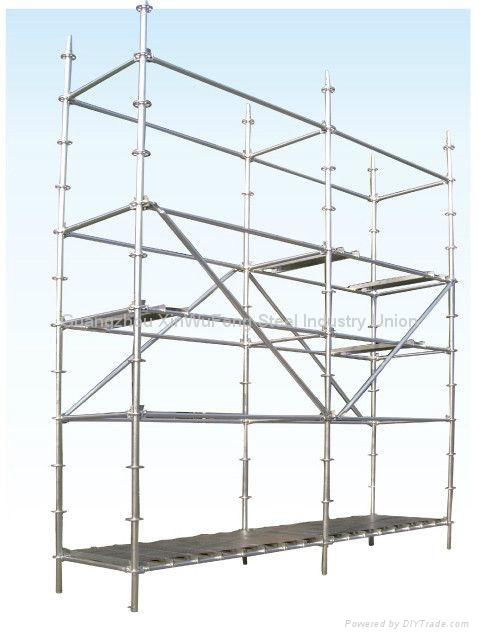 Construction Frame Platform Walk Through Mobile Scaffold Towers ...