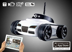 Iphone Control RC Tank With Camera Via Wi-Fi Available