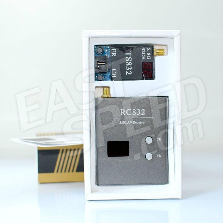5.8G 600mw 32频道 图传发射接收套装 4