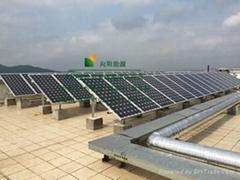 河南家用别墅并网太阳能光伏发电