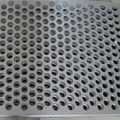 Round holes punched perforated metals 1