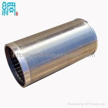 High Flow Continuous Slot Welded Wedge Wire Screen Cylinders 1