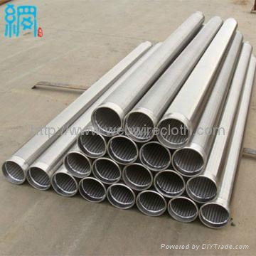 Continuous Slot Wedge Wire screen for drilling equipment 1