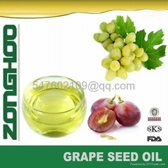 healthy nutritional grape seed oil