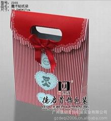 魔术贴纸袋