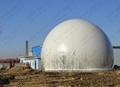 Amoco Biogas Storage Tank