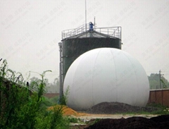 Amoco Biogas Holder - AMA Membrane Gas Holder