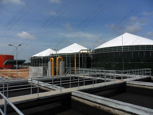 Amoco Biogas Holder  customized capacity provided 1