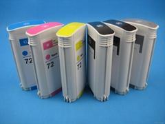 refillable ink cartridge for HPT610,HPT770,HPT790,HPT1100,HPT1200,HP72#