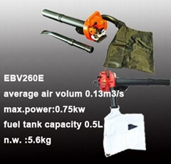 petrol engien leaf blower vacuum