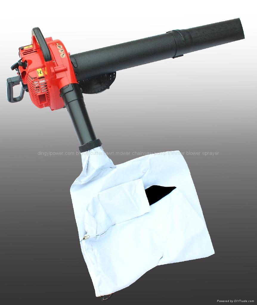 petrol engien leaf blower vacuum 2