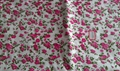 100% polyester Microfiber Bed Sheet Fabric brushed and dyed 2013 new design  1