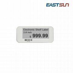 超市价格标签 2.8寸电子纸屏幕 电子货架标签